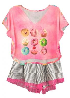 Recalled Little Mass pajama set, style number T952S