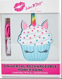 Cupcake Emoji power bank