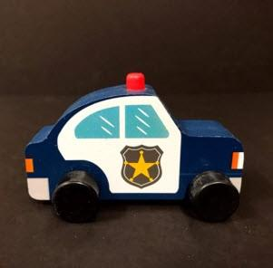 Bullseye's Playground Toy Vehicles – Police Car