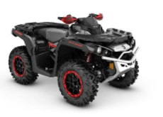 Recalled MY21 Can-Am Outlander XXC 1000R Black-Silver-Red