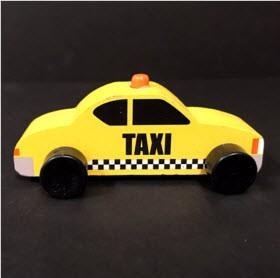 Bullseye's Playground Toy Vehicles – Taxi