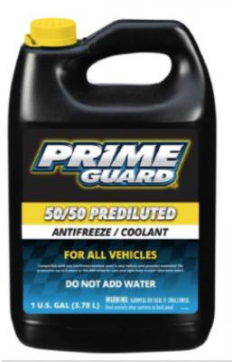 "Recalled HIGHLINE AMAM ""Prime Guard"" 50/50 Antifreeze"