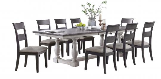 Recalled Bayside Furnishings Lawler-9-PC-Dining Set