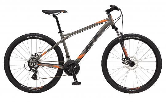 "2017 Aggressor Comp, 27.5"" wheel, gunmental grey GT Mountain bicycle"