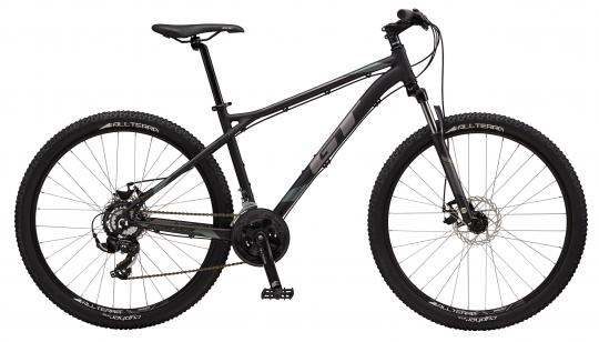 "2017 Aggressor Sport, 27.5"" wheel, black GT Mountain bicycle"