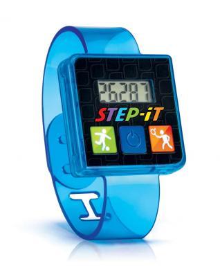 """Pulsera de actividad """"Step-iT"""" azul"""