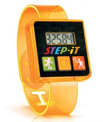 "Pulsera de actividad ""Step-iT"" naranja"