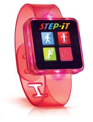 """Pulsera de actividad """"Step-iT"""" rosa"""