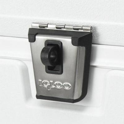 Igloo Marine Elite coolers stainless-steel latch