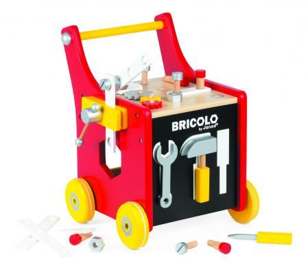 Recalled Janod Redmaster –Magnetic DIY Trolley