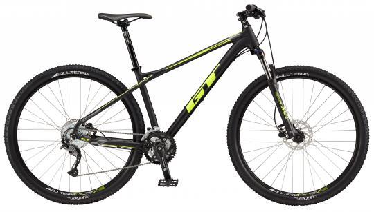 "2017 Karakoram Sport, 29"" wheel, black GT Mountain bicycle"