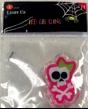 Pink Skeleton LED Gel Cling
