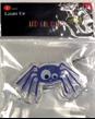 Purple Spider LED Gel Cling