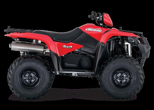Recalled Suzuki LT-A750X ATV