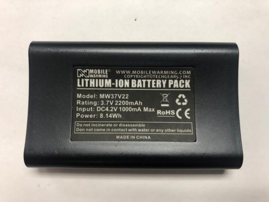 Mobile Warming Performance Heated Socks battery
