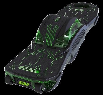 Neon Nitro 8 one wheel electric skateboard (top view)