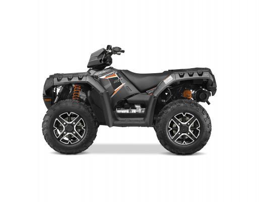 Polaris 2015 Sportsman 850 SP Titanium Matte Metallic