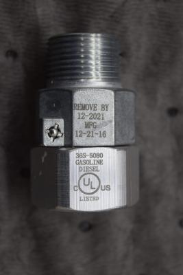 Model 36S ¾ inch with MFG Date 01-01-2013 through 03-12-2017
