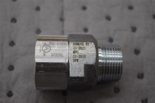 Model 36S 1 inch with MFG Date 01-2013 through 03-2017
