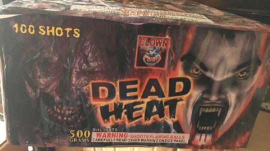Dead Heat 100 Shot Cake