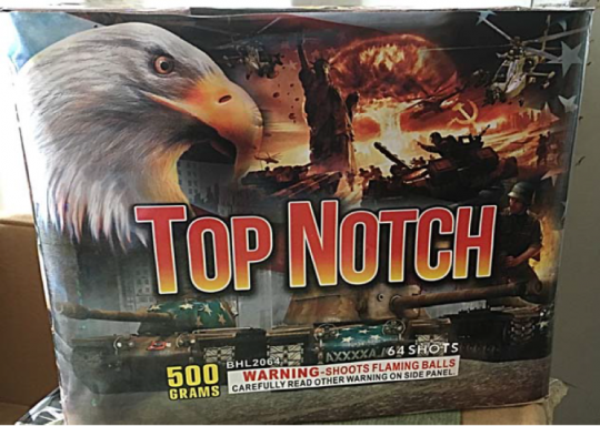 Top Notch Fireworks Cake