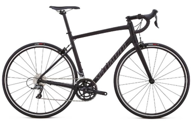 2018 Specialized Allez in Satin Black/Charcoal Clean