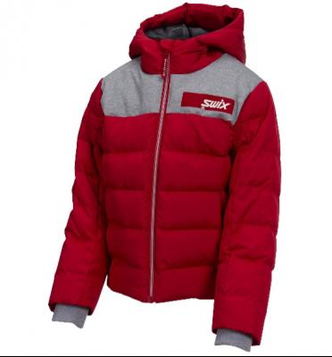 Recalled Swix branded Focus Down Jacket Jr. (Red)