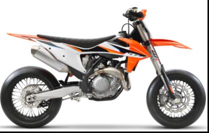 Recalled 2021 KTM 450 SMR motorcycle