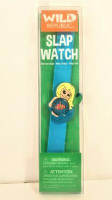 Close-Up of a recalled Slap Watch-Mermaid