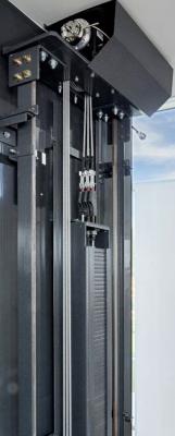 Recalled traction elevator
