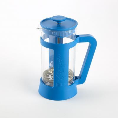 Bialetti coffee press in blue