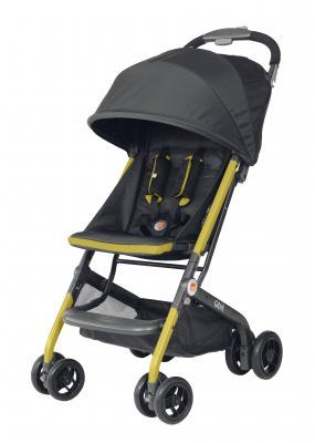 Recalled gb Qbit lightweight stroller in citrus lemon