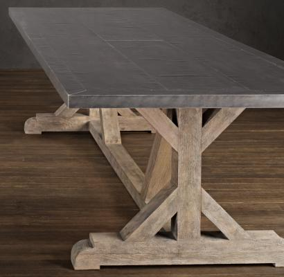 Railroad Tie dining table