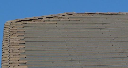 SolarBlend™ Roof Tiles as viewed from the ground