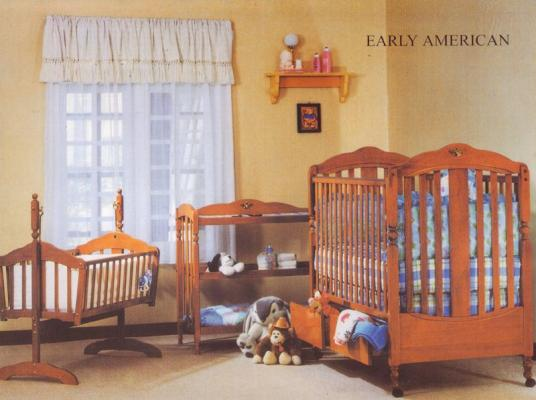 Early American Crib