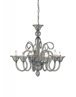 9150 Guilia chandelier, small, smoke