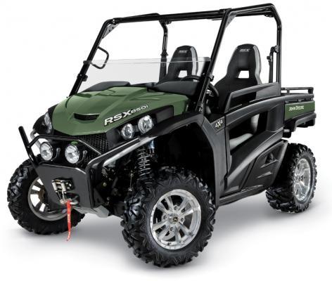 John Deere Gator RSX850i Trail utility vehicle