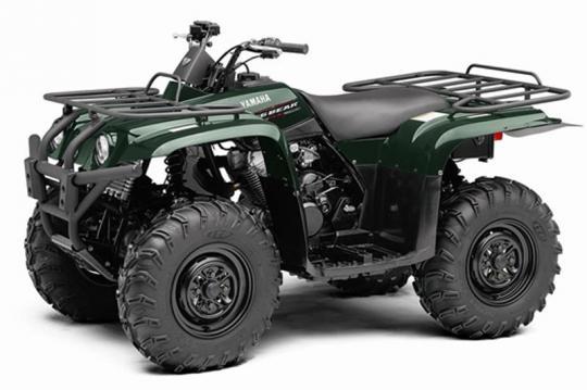 Green Yamaha Big Bear 400