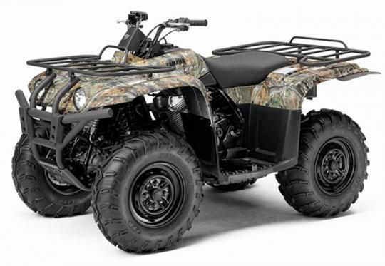 Camouflage Yamaha Big Bear 400