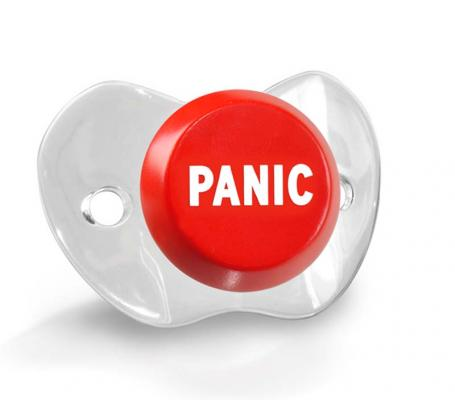 Chill Baby Panic pacifier