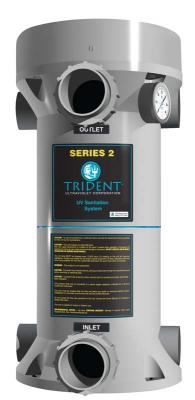 Trident Series 2 pool sanitation system
