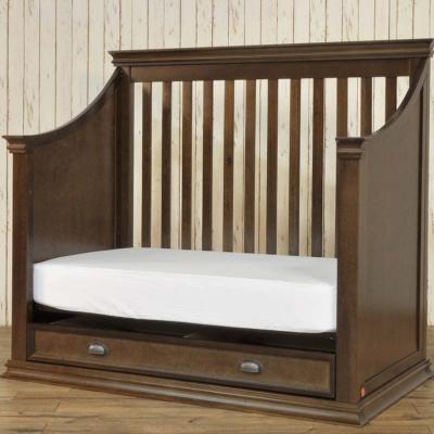 Franklin & Ben Mason 4-in-1 Crib in brown