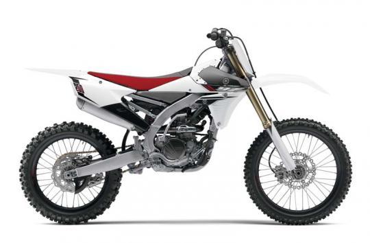 Yamaha model YZ250FEW