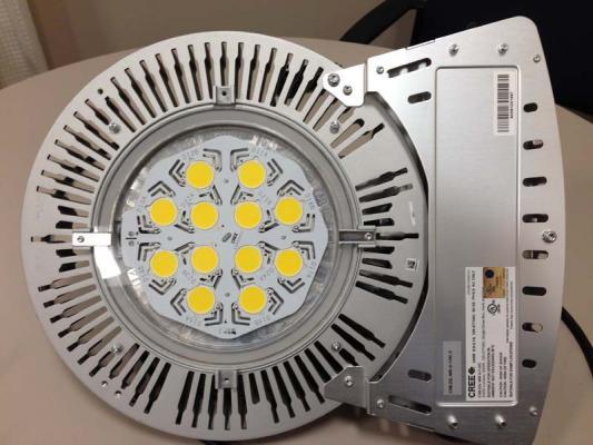 Recalled CXB Series LED Light Fixture