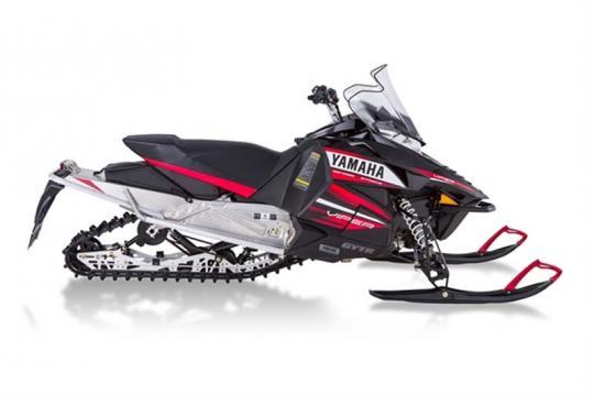 "Black and Red Yamaha 2014 model SR10R (""SRViper"")"
