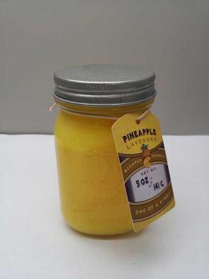 DD brand 5-ounce Mason jar candle