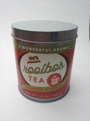 DD brand 13-ounce coffee tin candle