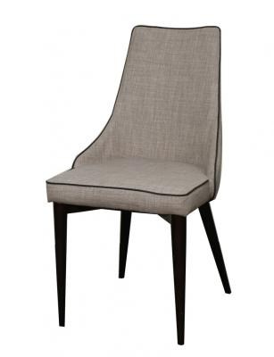 Abby Dining Chair with grey fabric