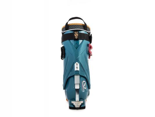 Back of women's ski boot