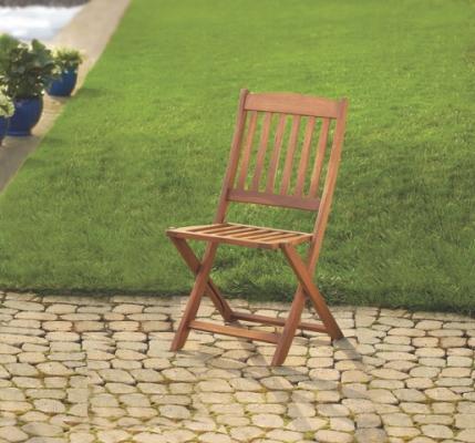 Linon Home Décor Foldable Patio Chair
